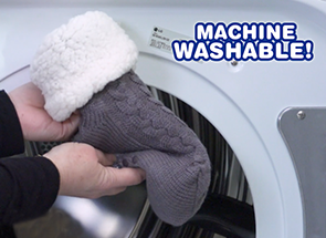 Machine Washable!