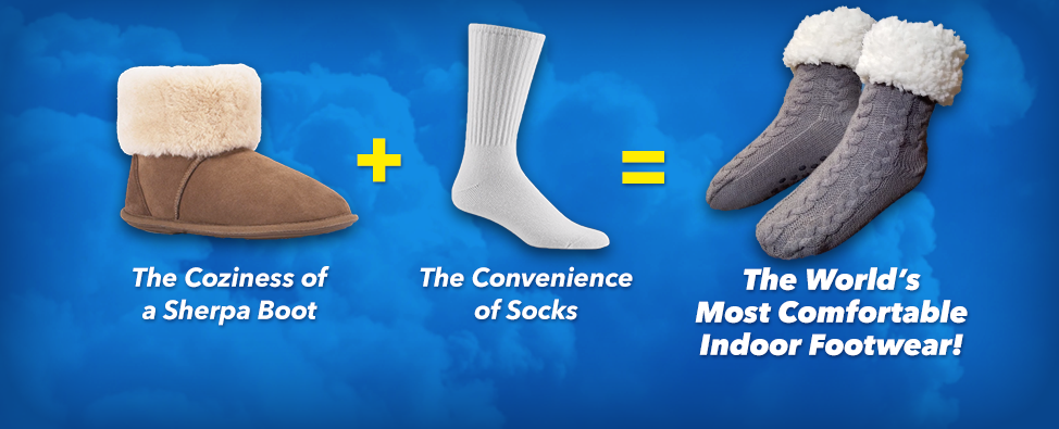 The World's Most Comfortable Indoor Footwear!